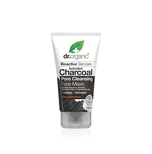 Dr. Organic Maschera Viso Purificante al Carbone Attivo - 125 ml