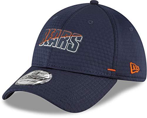 New Era 3930 On Field Training NFL Team Stretch Fit Cap, Herren, Chicago Bears, Medium / Large