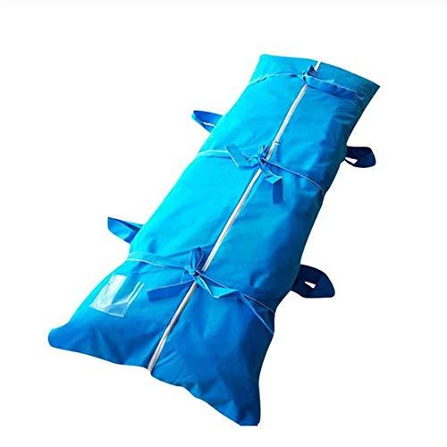 ZXL Emergency Cadaver Lichaamszak, waterdichte vulling Body Bag Dode Lichaamszak Ziekenhuis Morgue Transport Dode Cadaver Tassen Virus Isolatie Tassen 80 * 210cm