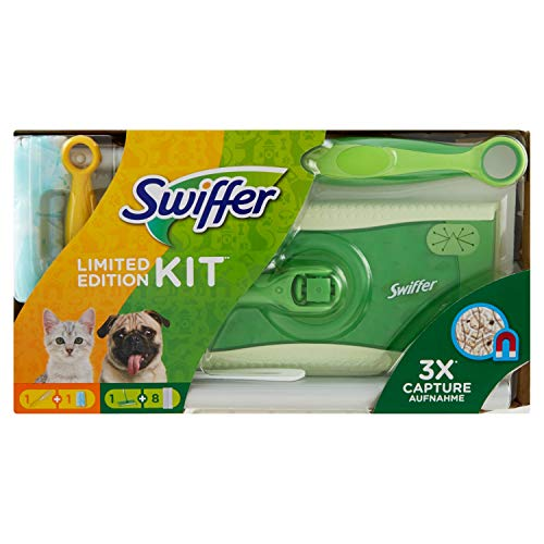Swiffer Limited Edition Set (1 vloerwisser en 8 stofdoekjes en 1 stofmagneet en 1 doek) 1 stuks
