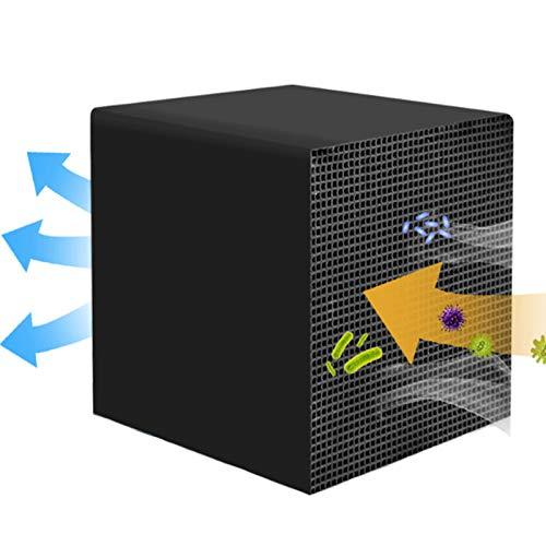 MXBXLG Absorption Cube Aquarium Zubehör Filter Eco Aquarium Filtration Absorption Aquarium Würfel Aquarium biochemische Filter für Aquarium für Aquarien mit Kohlefilter 10x10x10cm Schwarz