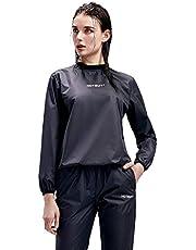 HOTSUIT Bastudräkt kvinnor gym träning träningsoverall svettdräkter slimming sportdräkt jacka