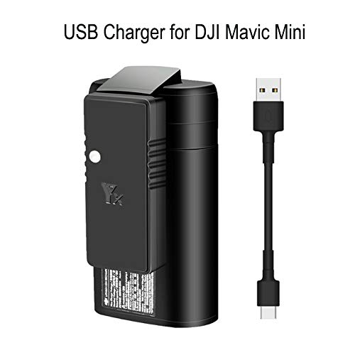 Linghuang autolader voor DJI Mavic Mini Drone accu's afstandsbediening USB snellader
