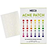 Acne Patches for Face - Hydrocolloid Bandages (540 Count) Pimple Patch in 3 Universal Sizes, Acne Spot Treatment Care for Face & Skin Spot Patch Conceals Zits, Acne, Reduces Pimples and Blackheads