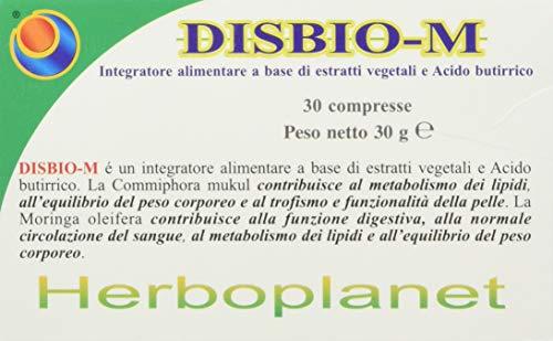 HERBOPLANET DISBIO-M 30comp, Nero, Normale