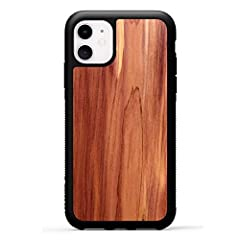 ONE-OF-A-KIND: Each of these Eastern Red Cedar Cases will reveal a natural and completely unique grain pattern! REAL WOOD PHONE COVER: Handcrafted with ideal precision by artisan carpenters, each case is unique with its own distinct wood grain patter...