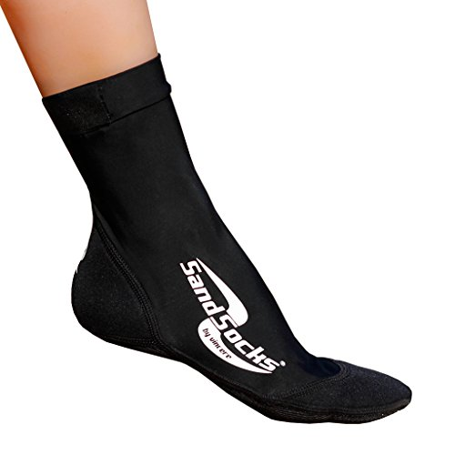 Sand-Socks Unisex Erwaschene by Vincere Socke, Schwarz, M