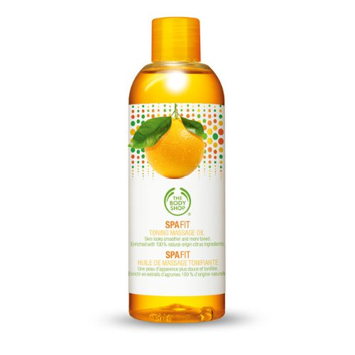 The Body Shop Spa Fit Oil Shipping included 5 Oz. Toning Massage Popular brand