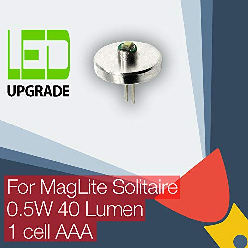 MagLite Solitaire LED Umwandlung/Upgrade Lampe für MagLite Solitaire Taschenlampe Taschenlampe 1AAA Cell Philips LED