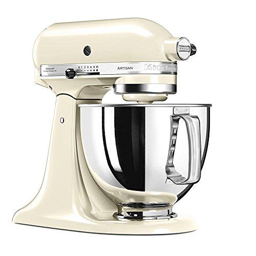 KitchenAid Küchenmaschine Artisan 4,8L Creme - 3