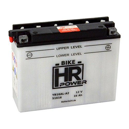 Motorrad Batterie Starterbatterie 12V 16Ah YB16AL-A2 51616