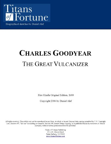 Charles Goodyear Inventions