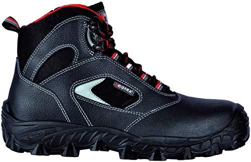 """Zapatos de Seguridad Negros """"Fowy"""" FW320-000.W43, Talla 43, S3 SRC, de Cofra"""