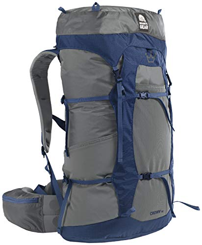 Granite Gear Crown2 60L Backpack - Women's Flint/Midnight Blue Short