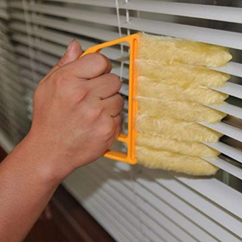 Taykoo 10Pcs Value Suit Window Blind Cleaner,7 Fingers Dester Brush for Window Blinds,Air Conditioner,Jalousie Dust,Best Cleaner Tools For Christmas Big Sweeping