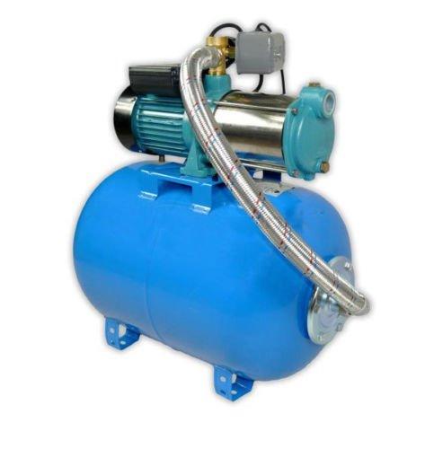 Wasserpumpe 2200W 160l/min 50 l Druckbehälter Gartenpumpe Hauswasserwerk Kreiselpumpe