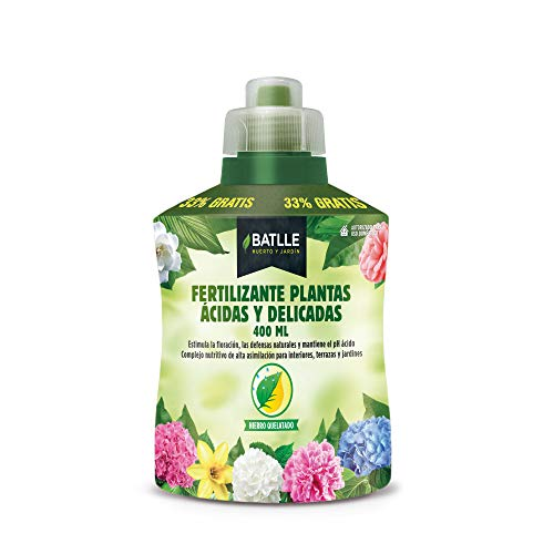 Abonos - Fertilizante Plantas Acidas Botella 400ml - Batlle