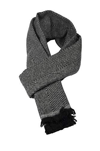 Lujosa, grande, suave, sensación de cachemira, pashmina, bufanda de invierno para hombres y mujeres