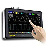 S SMAUTOP Digital Oscilloscope 2 Channels, Tablet Oscilloscope Portable Storage Oscilloscope Kit With 100mhz Bandwidth And 1gs Sampling Rate, 7' Tft Lcd Touch Screen