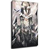 Albedo Overlord - Póster de alas negras (70 x 100 cm)