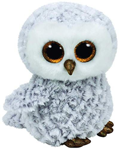 Carletto Ty 37086 Owlette White Eule- Beanie Boos Med