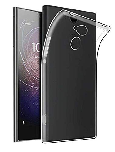 Plus Ultra Clear Transparent Flexible Soft TPU Slim Back Cover for Sony Xperia L2