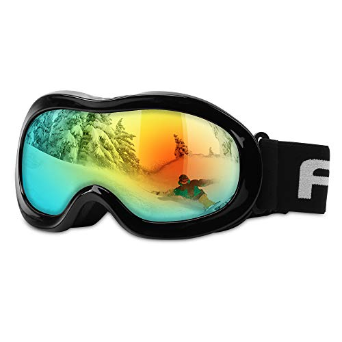 AKASO Kids Ski Goggles, Snowboard Goggles Snow Goggles for Youth, Kids &...