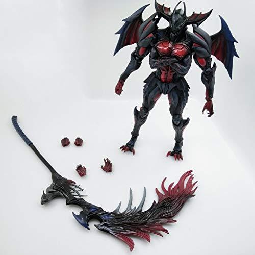 POIUYT La Figura De Acción De La Película Película Modelo Monster Hunter 4 última Versión De La Destrucción del Dios Modelo De Juguete De Regalo Adornos
