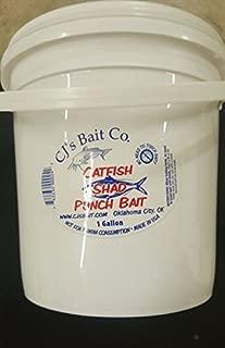 Cjs catfish shad punch bait 1 gal.