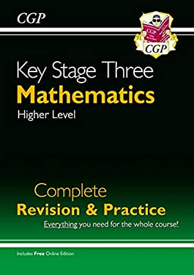 New KS3 Maths Complete Study & Practice (with Online Edition) (CGP KS3 Maths) by Coordination Group Publications Ltd (CGP)