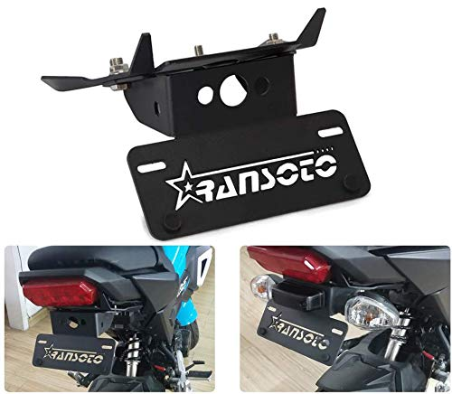 Motorcycle Fender Eliminator License Plate Mount Compatible with Honda Grom MSX125 2017 2018 2019 2020