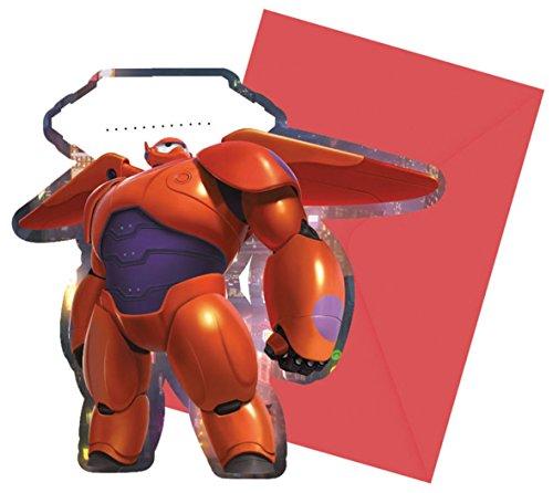 Disney Big Hero Lot de 6 décorations de fête à Suspendre