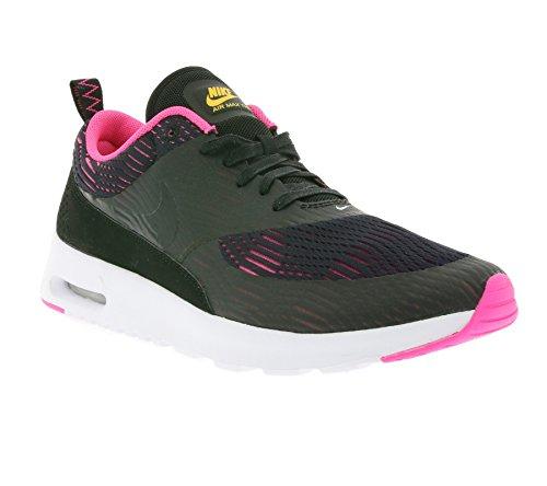 Nike Damen W Air Max Thea EM Fitnessschuhe, schwarz Rosa Explosion, 38 EU