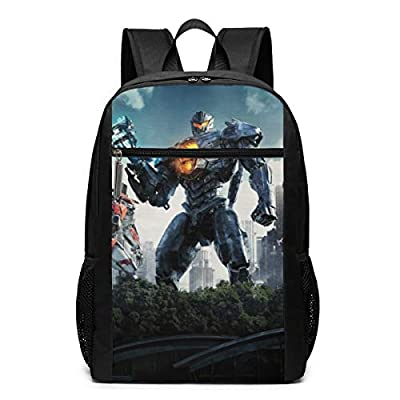 Pacific Rim Uprising Some Robots Double Backpack Deck Lightweight Travel Laptop BusinessExtra Large Capacity Backpack Suitable for Both Men and Women Student Gifts Leisure Backpack