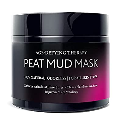 Natural Anti Wrinkle Face Mask - 100% Healing Peat Mud Therapy, Best For Anti Aging, Hydrating and Deep Cleansing Facial Moisturizer, Collagen Boosting Skin Care Solution For Men & Women, 150 ml by World Wide Wolf O