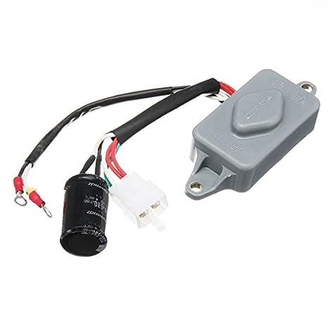 Bộ điều chỉnh điện áp tự động Utini 4-6.5KW DC 90V 3.5A AVR cho Máy phát điện gas Honda ES6500 ES6500K1 với chức năng bảo vệ quá áp quá dòng và ngắn mạch