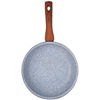 Megafesa Marmol - Sartén (diámetro 18 cm), color gris: Amazon.es: Hogar