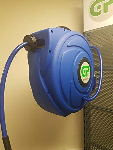 Einziehbar Schlauchhaspel für Luft 17 Meter 20 bar 300PSI) 3/8 Bohrung, für Wandmontage