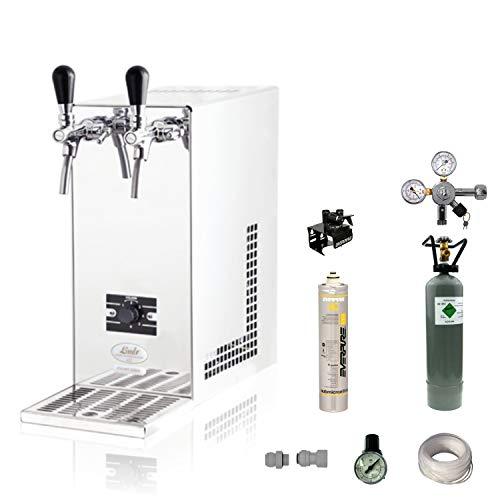 Tafelwassergerät Wasserzapfanlage 20 Ltr/h ohne AquaStop mit Wasser Filteranlage