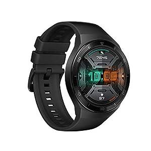 Huawei Watch GT 2e Sport - Smartwatch de AMOLED pantalla de 1.39 pulgadas, 2 semanas de batería, GPS, Color Negro (Graphite Black) 46 mm (55025281)
