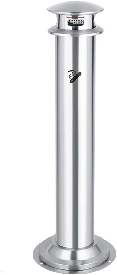 Ashtray Trash Can Stainless Steel Bin Smoki Column Soot 2021 new Limited time sale Vertical