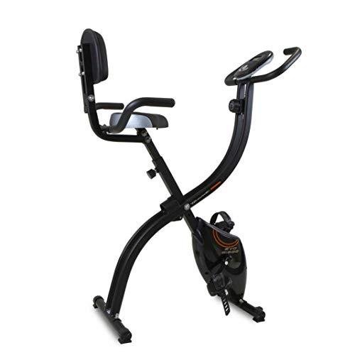 Tecnovita Bicicleta Plegable con Respaldo EVO B1500 - YF1500. Volante de inercia 8kg ⭐