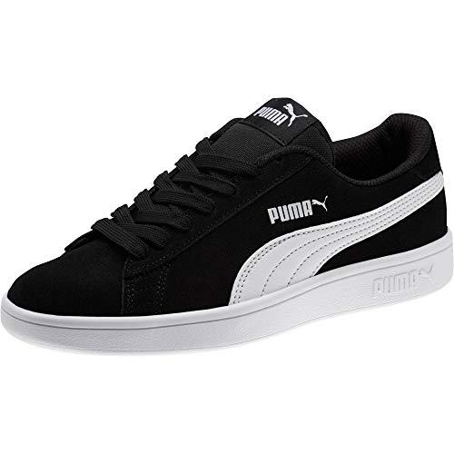 PUMA Unisex Kinder Puma Smash V2 Sd Jr Zapatillas, Schwarz Puma Black Puma White, 39 EU