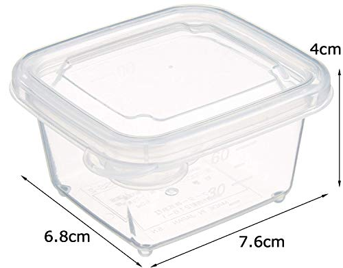スケーター離乳食保存容器ミニミニシール容器10個セット(5個×2)小分け容器保存容器レンジOK60mlMMS2