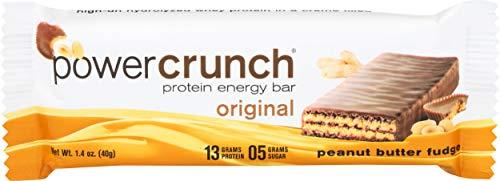 Power Crunch Bar, Peanut Butter Fudge, 1.4 Ounce, 24 Ct.