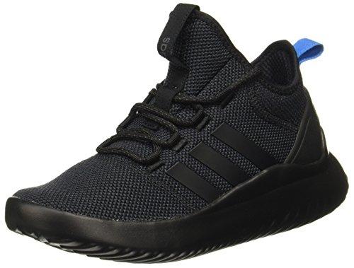 adidas Men's Cloudfoam Ultimate B-Ball Low-Top Sneakers, Black (Black Da9655), 9.5 UK