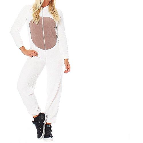 LBB Damen Jumpsuit Einteiler Overall Tier Anzug Hund Gr. L