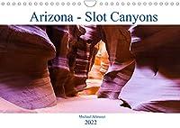 Arizona - Slot Canyons (Wandkalender 2022 DIN A4 quer): Faszinierende Bilder aus dem Antelope Canyon (Monatskalender, 14 Seiten )