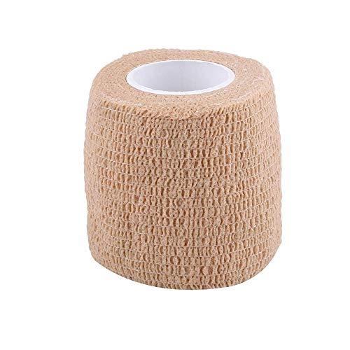 Vendaje autoadhesivo, 5 rollos/juego Cinta de vendaje autoadhesiva Envoltura impermeable para juntas de dedos