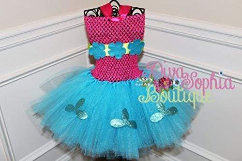 Las Vegas Mall OFFicial store Trolls Tutu Dress Poppy Princess -